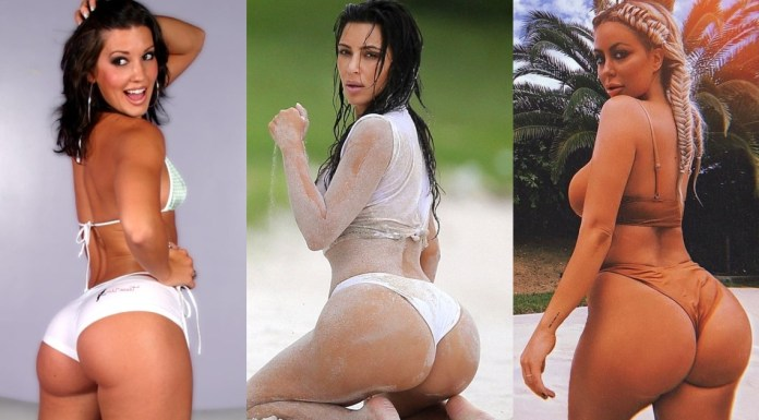 Top 50 Hottest White Girls With Big Ass - 2020