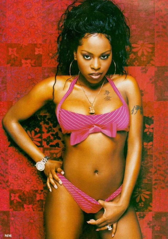 Foxy Brown naked
