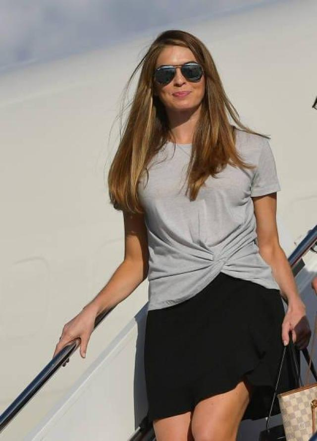 Hope Hicks sexy look pictures