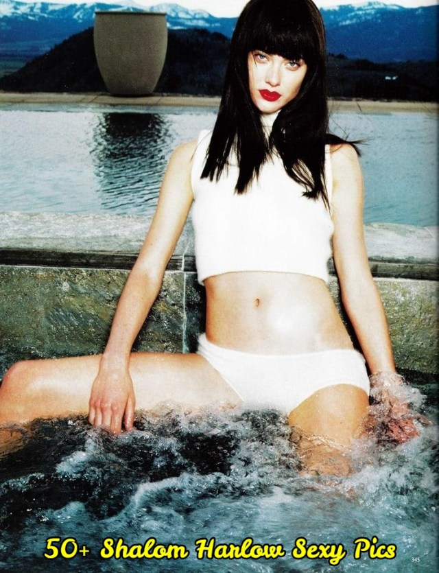 Shalom Harlow sexy pictures