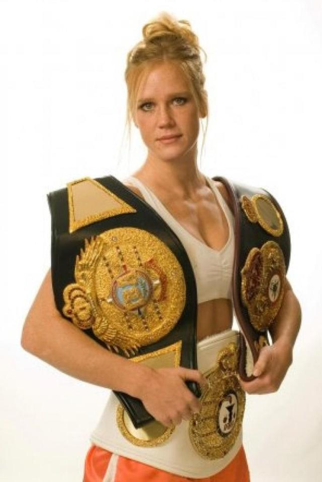 Holly Holm sexy photo