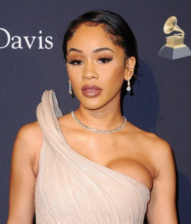 Saweetie busty pics
