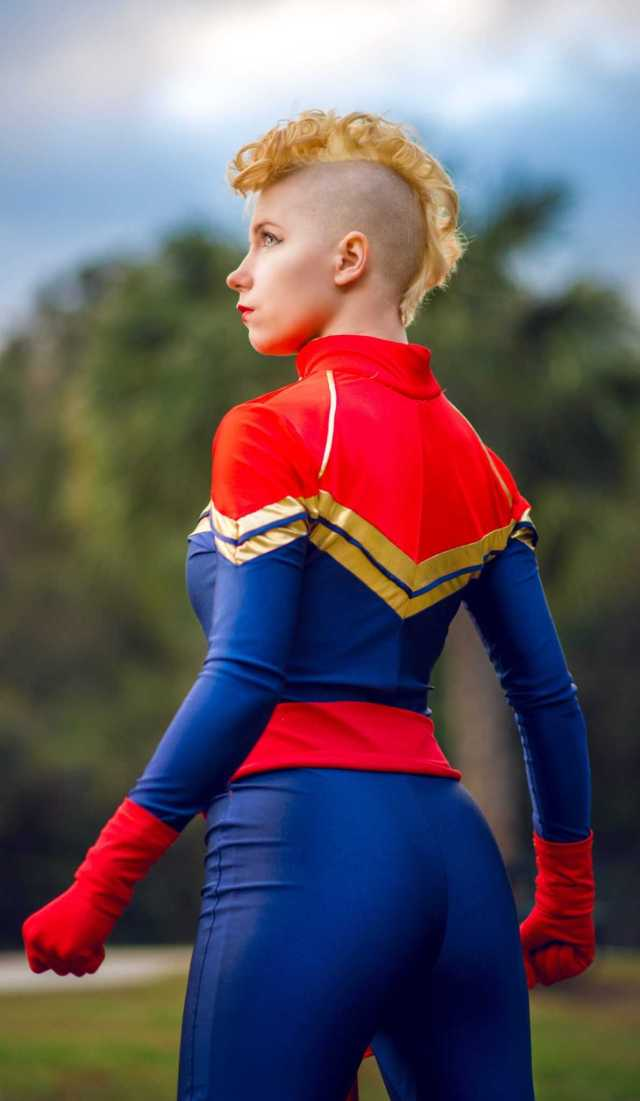 Captain Marvel sexy pic
