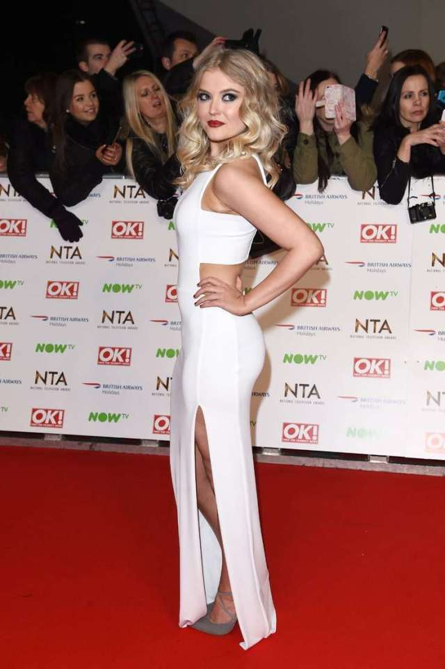 Lucy Fallon hot look