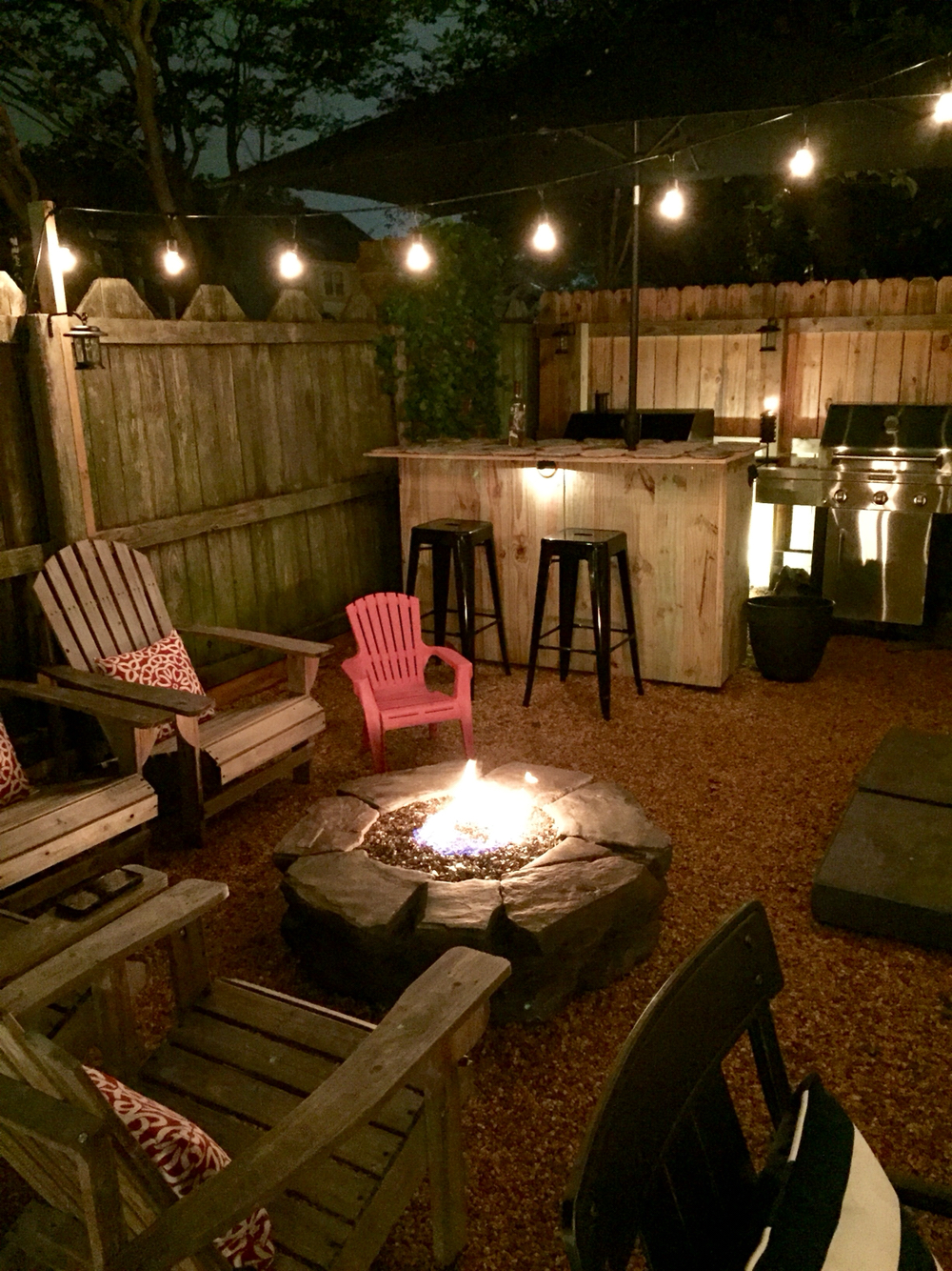 Outdoor Patio Designs Fire Pit