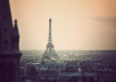 Miniature Eiffel Tower - Fine Art Photography (8 x 12 print)