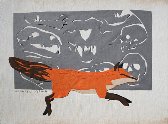Master Of The Hunt, Collage, 2011