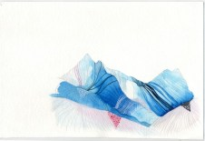 Ice Mountains 16 x 20 Archival Fine Art Print, Limited Edition of 20