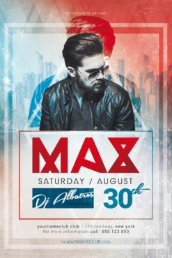 Best of Flyers Shop   Free Club Flyer Templates Here DJ Max Minimal Party Free Flyer Template