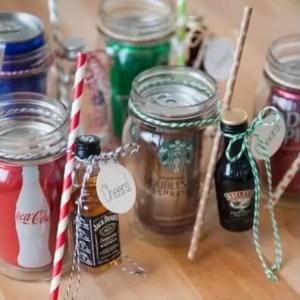soda and small liquor for magazine