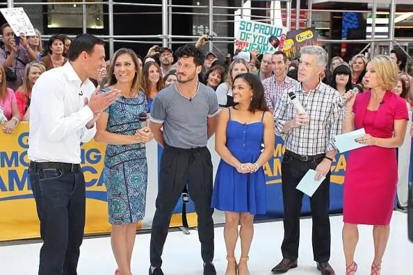 """Laurie Hernandez on """"Good Morning America discussing season 23 of """"Dancing with the Stars"""""""