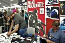 Artist Rafael Albuquerque