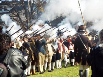 General Washington's 1776 Retreat to Victory Reenactment