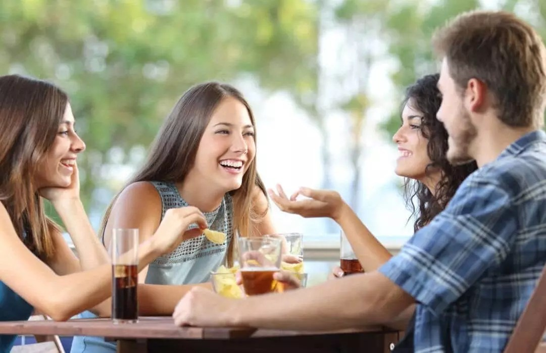 Dating just because it is there is