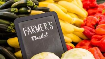 farmer's market, vegetables