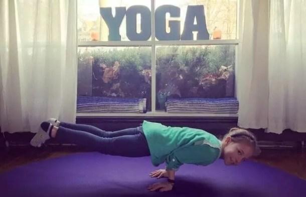 kids, yoga