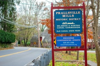 Jersey Through History featuring Prallsville Mills