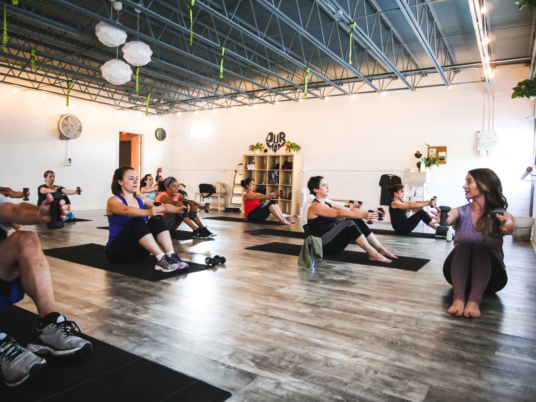 Sync Studio Fitness at the Cube fitness studios durham nc