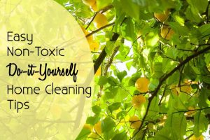 Non-toxic DIY Home Cleaning