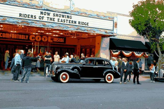 Live by Night - at Warner Grand Theatre