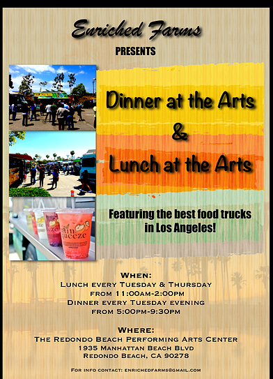 Dinner & Lunch at the Arts