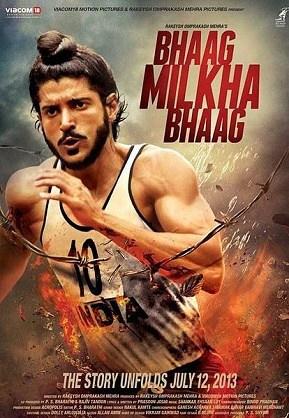 भाग मिल्खा भाग movie poster