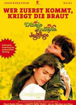 Dilwale Dulhania Le Jayenge movie poster