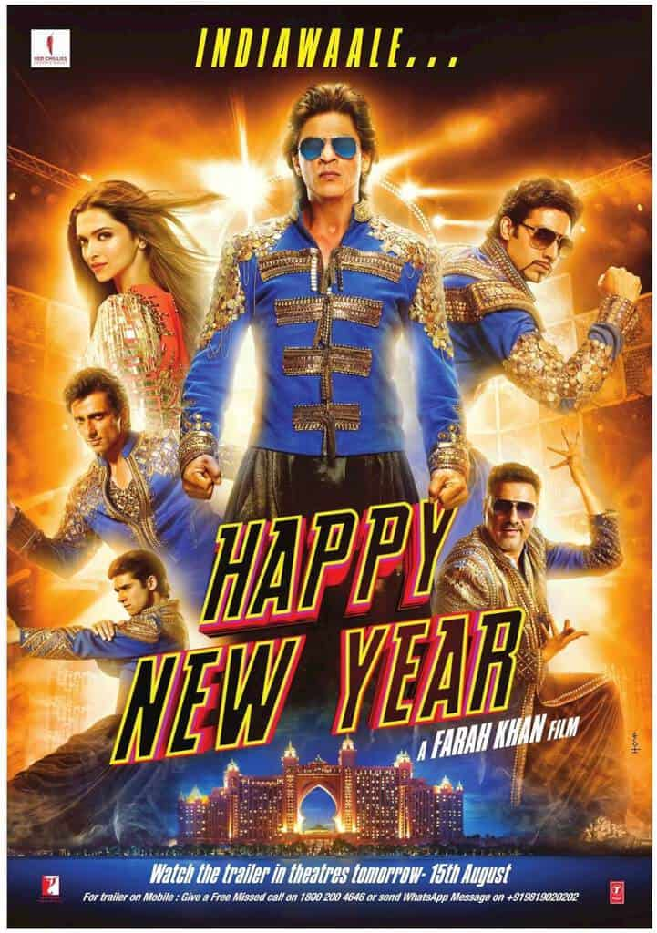 happy new year lifetime box office collection budget reviews cast etc