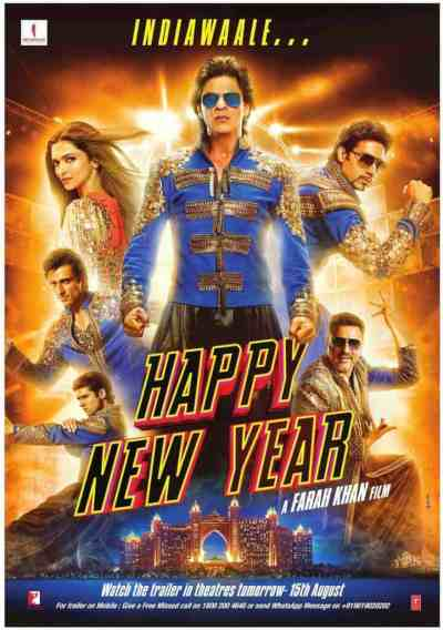 Happy New Year Movie Poster 11