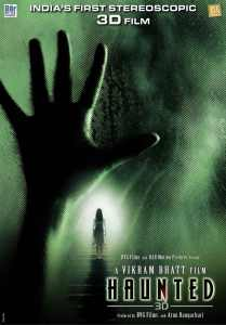 Haunted – 3D Poster