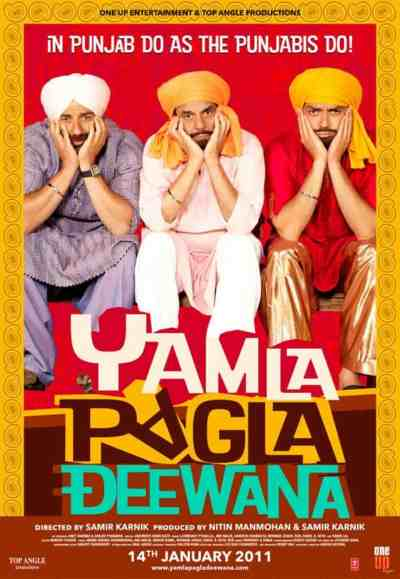 Yamla Pagla Deewana movie poster