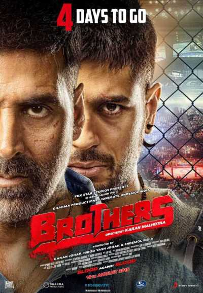 Brothers movie poster