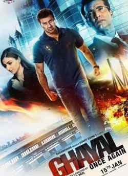 घायल वन्स अगेन movie poster