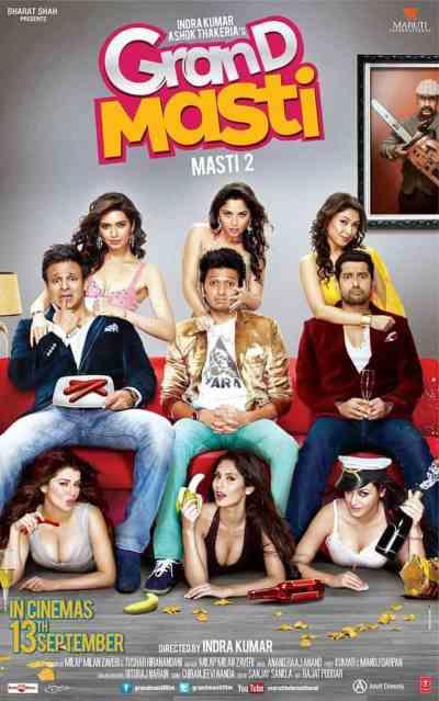 Grand Masti movie poster