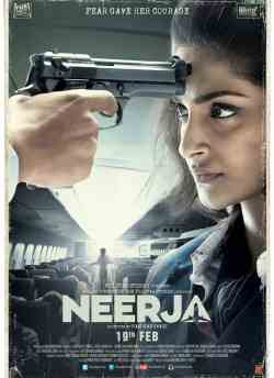 Neerja movie poster