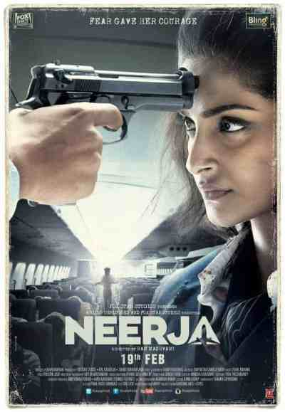नीरजा movie poster