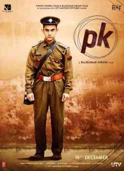 पीके movie poster