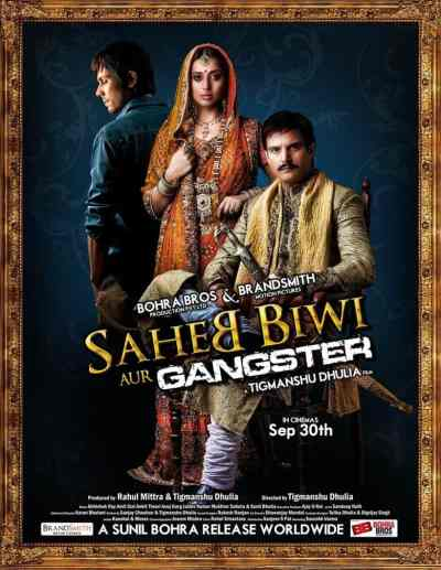 Saheb Biwi Aur Gangster movie poster