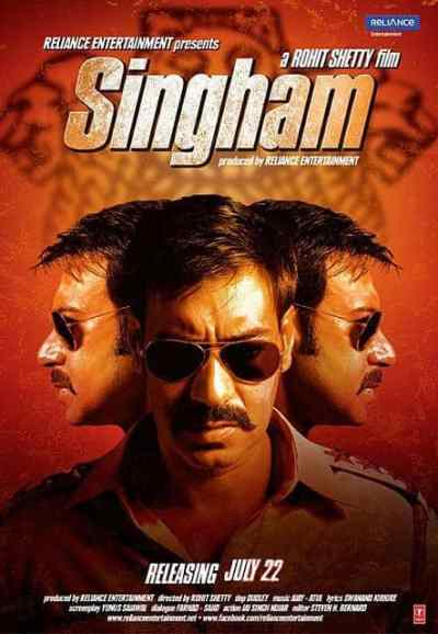 Singham movie poster