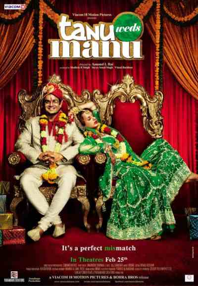 Tanu Weds Manu movie poster