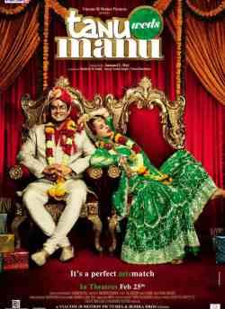 तनु वेडस मनु movie poster