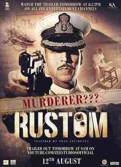 रुस्तम movie poster