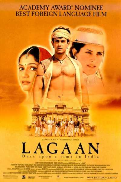 Lagaan: Once Upon a Time in India movie poster