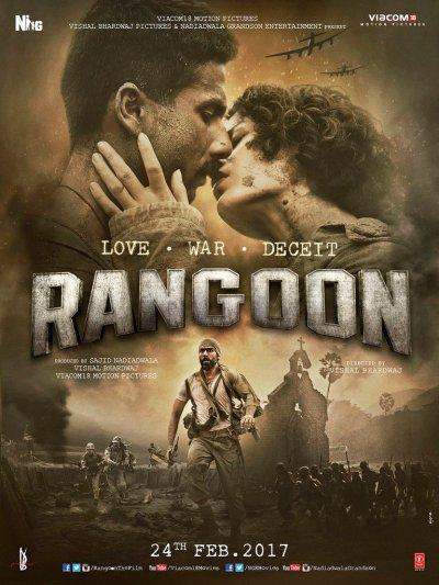 Rangoon movie poster