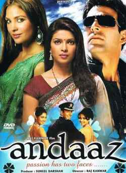 Andaaz movie poster