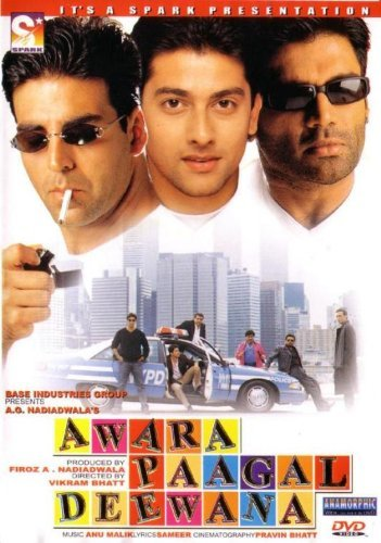 Awara Paagal Deewana movie poster