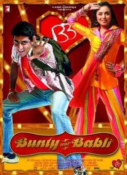 Bunty aur Babli movie poster