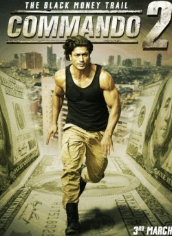 Commando 2 movie poster