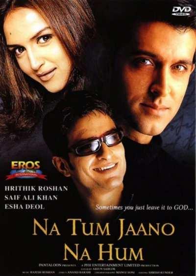Na Tum Jaano Na Hum movie poster