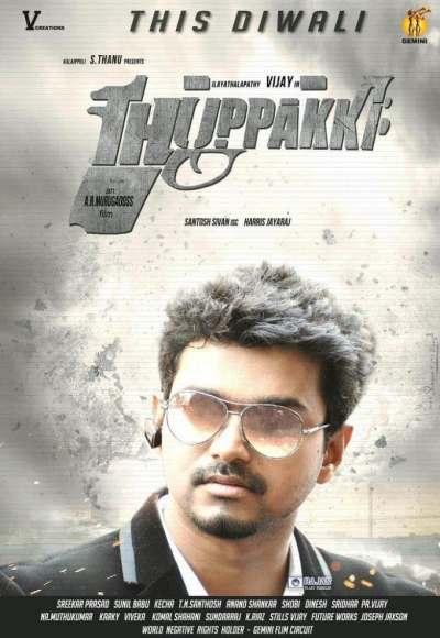 Thuppakki movie poster